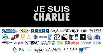 Writers Groups Back Charlie Hebdo