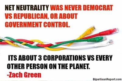 Net Neutrality: 3 corporations vs every other person